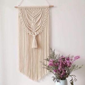 Macrame Wall Hanging Tapestry Boho
